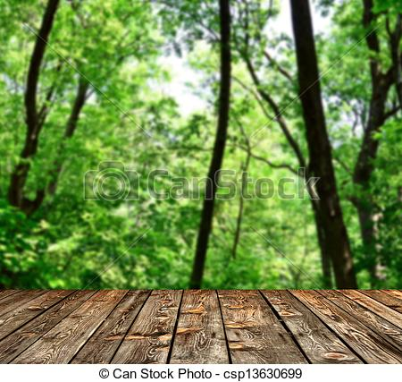 Wood clipart green forest Stock csp13630699 floor of