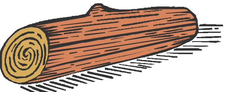 Timber clipart hollow log Log on Hollow Log Clip
