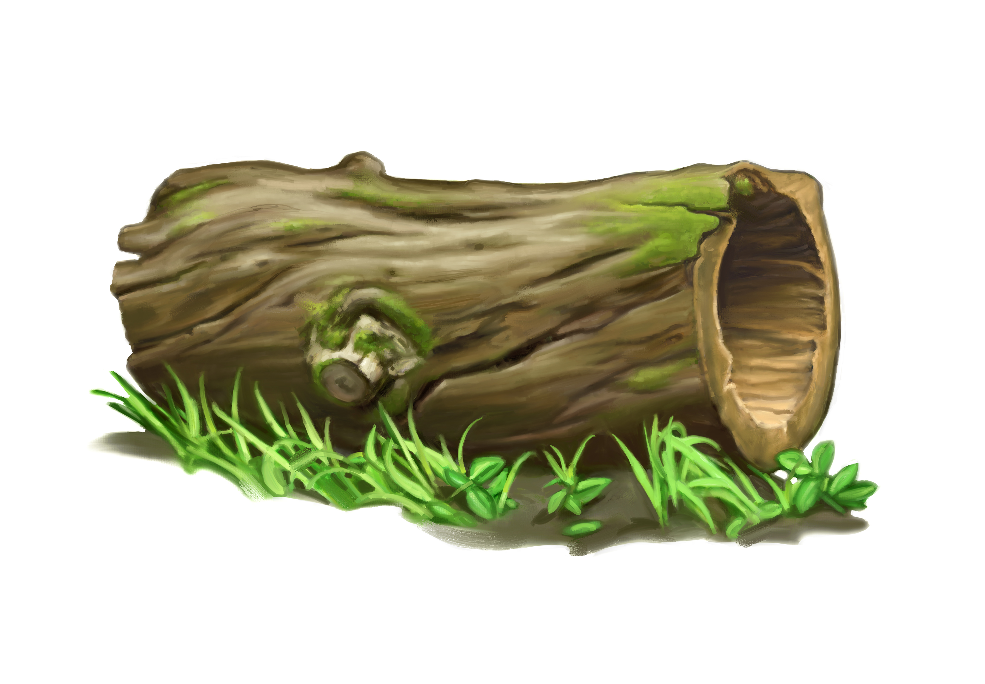 Timber clipart hollow log Log · Tree Cliparts Silhouette
