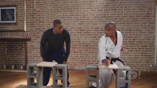 Wood clipart karate chop #7
