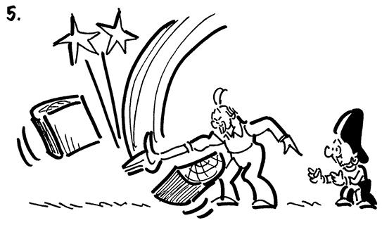 Wood clipart karate chop #4