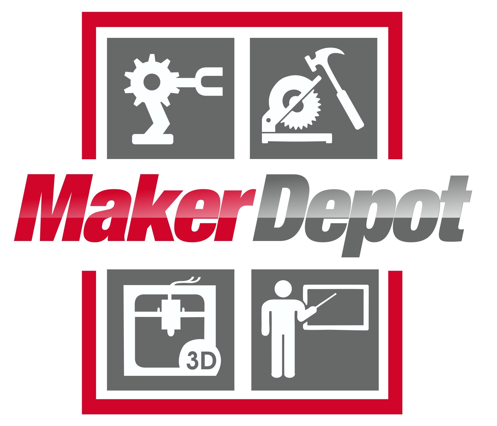 Wood clipart maker Logo Maker A Makerspace Depot