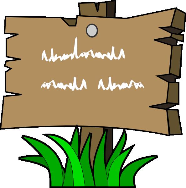 Wood clipart papan tanda Art clip Sign art as: