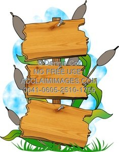 Wood clipart piece wood Piece Sign Wooden With Sign