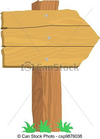 Wood clipart signpost Csp9876038 on  signpost signpost