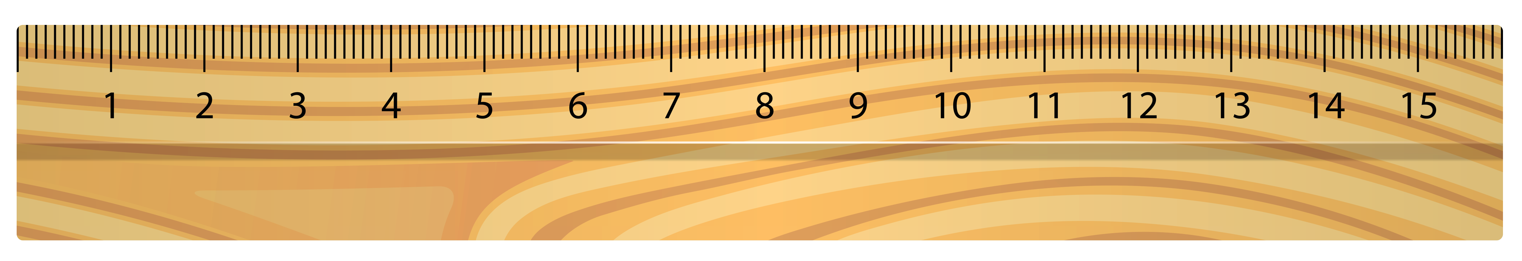 Wood clipart solid object Png transparent ruler  Vector