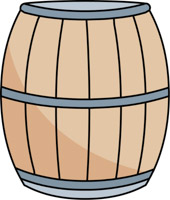 Wood clipart solid object Barrel Objects Kb Size: Clipart