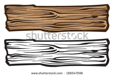 Wood clipart wood plank Plank of wood wood clipart