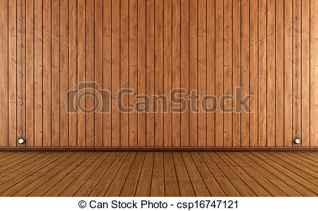 Wood clipart wood wall And wall electric with room
