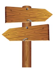 Wood clipart wooden arrow Hanging WOODEN SIGN Sign