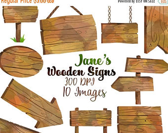 Wood clipart wooden plaque Sign OFF Signs sign 50%
