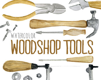 Wood clipart woodwork Tools Etsy Woodwork clip illustration