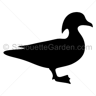 Wood Duck clipart Silhouette Wood Duck Duck Silhouette