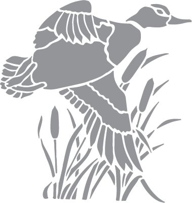 Wood Duck clipart cattails Decals Silhouettes Eagle and best