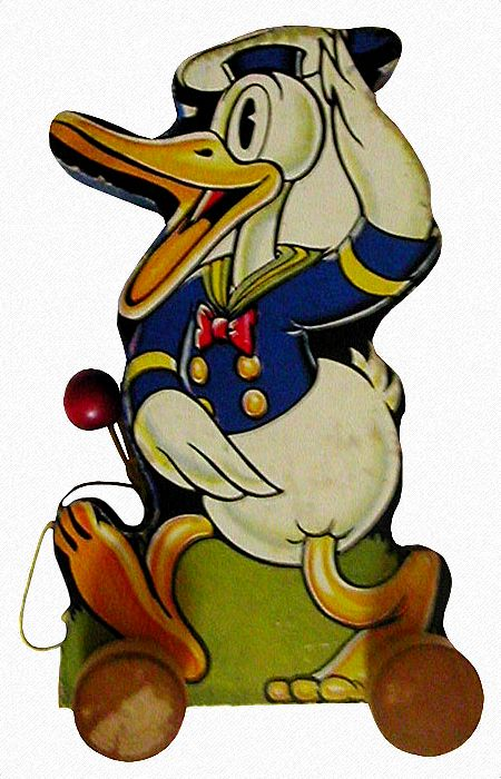 Wood Duck clipart carolina (USA) 1930s Pull Price Toys