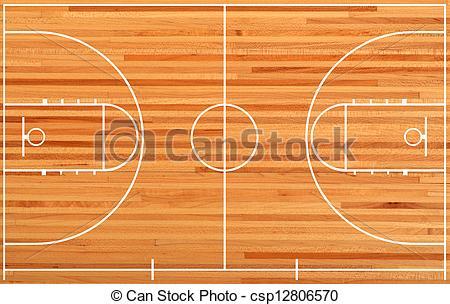 Wooden Floor clipart basketball court floor On floor Basketball parquet Stock