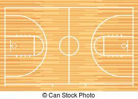 Wooden Floor clipart basketball court floor Court  wood Basketball outline