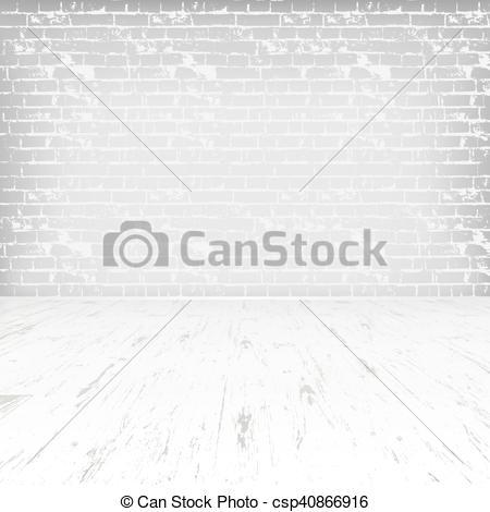 Wooden Floor clipart black and white Floor Empty Clip  white