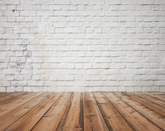 Wooden Floor clipart brick wallpaper Wall floor Brick Backdrop Chic