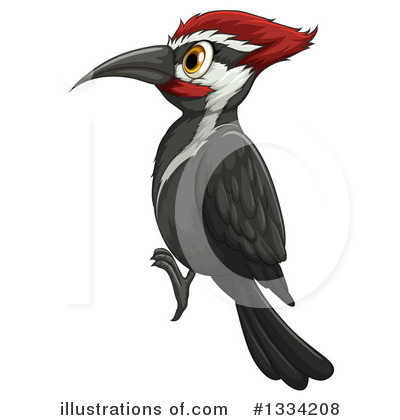 Bird clipart woodpecker Woodpecker #1334208 Illustration Clipart #1334208