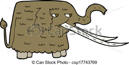 Woolly Mammoth clipart #15