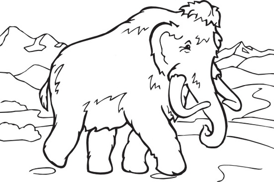 Woolly Mammoth clipart #8