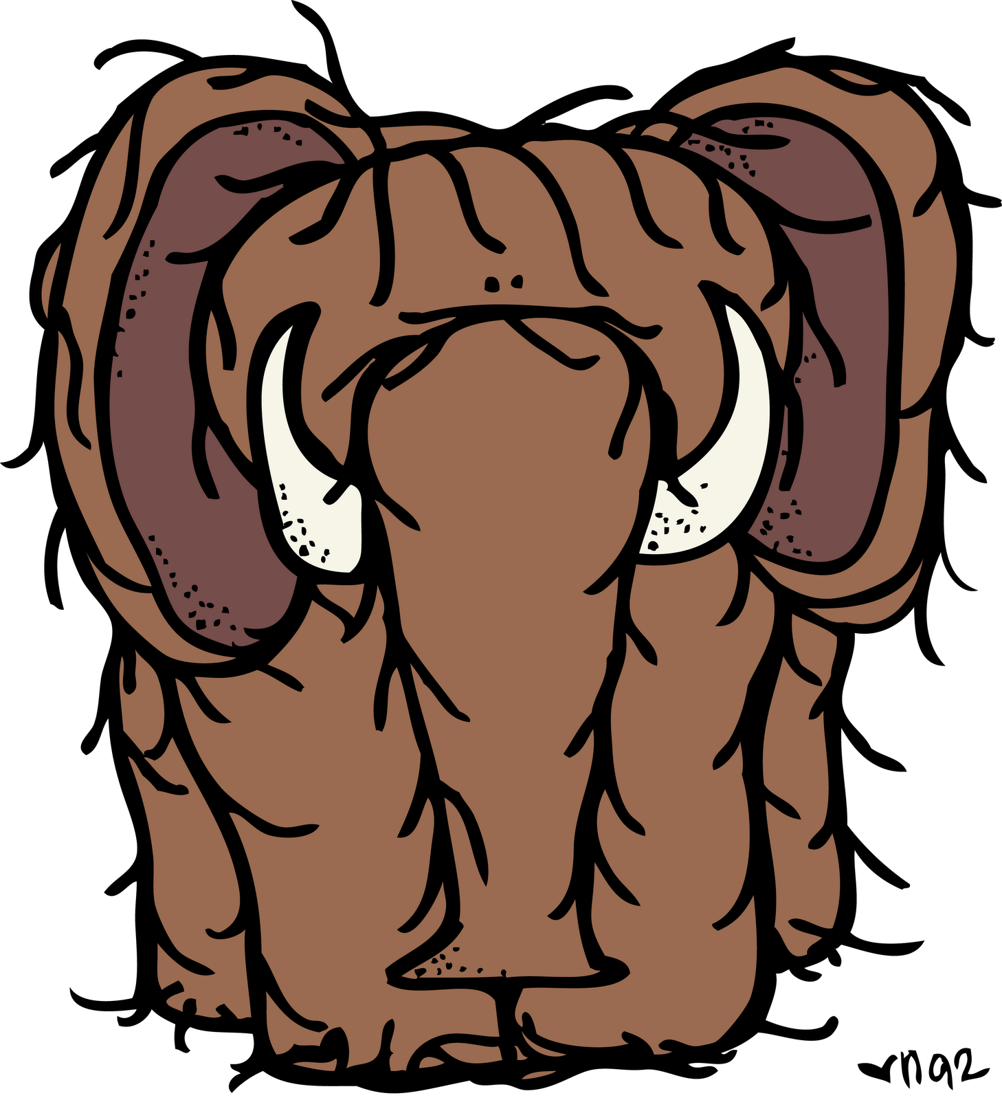 Woolly Mammoth clipart #14