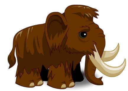 Woolly Mammoth clipart #12