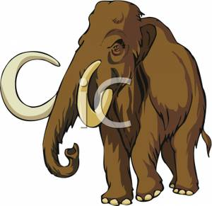 Woolly Mammoth clipart #7