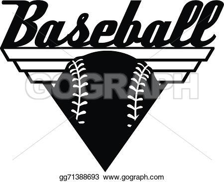 Word clipart baseball Drawing Clipart top and Baseball