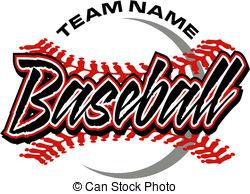 Word clipart baseball EPS Baseball Images clip art