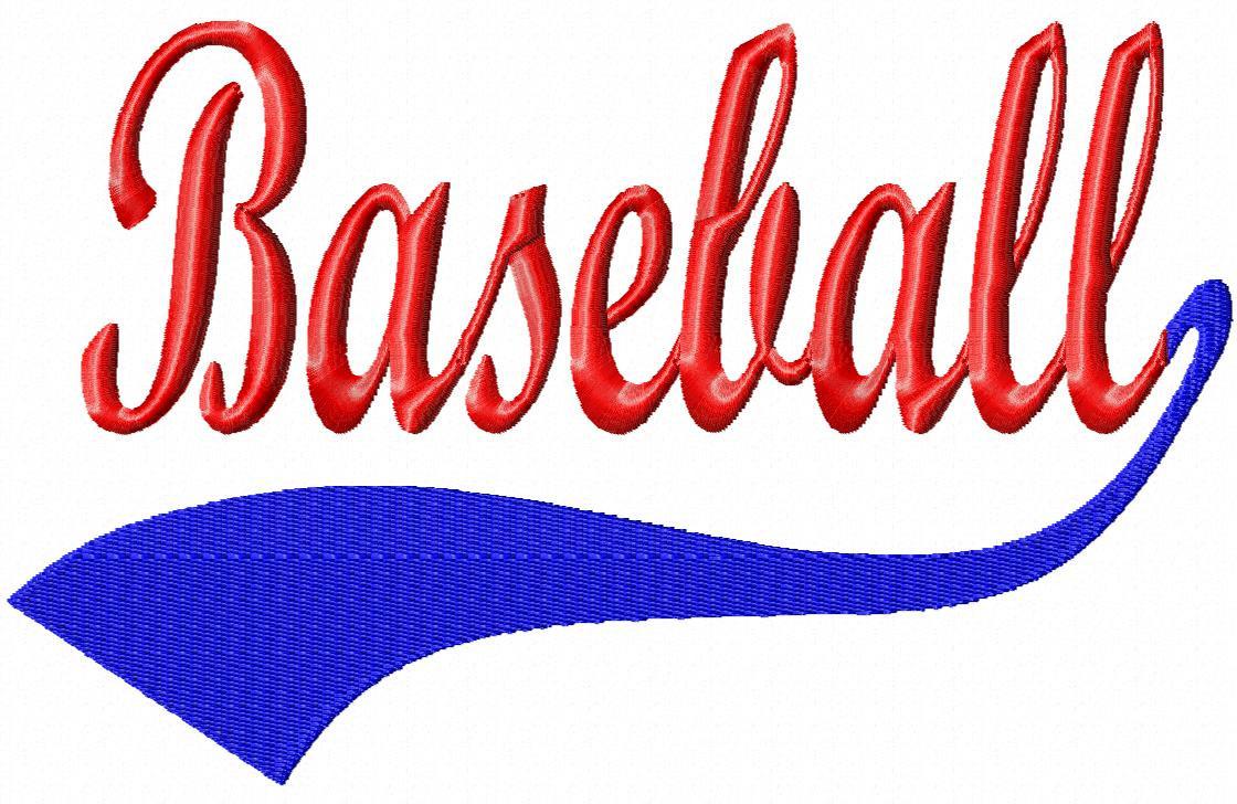 Word clipart baseball Art  Free Baseball Clip