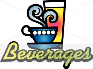 Word clipart beverages Style Style 70's Beverages Tea