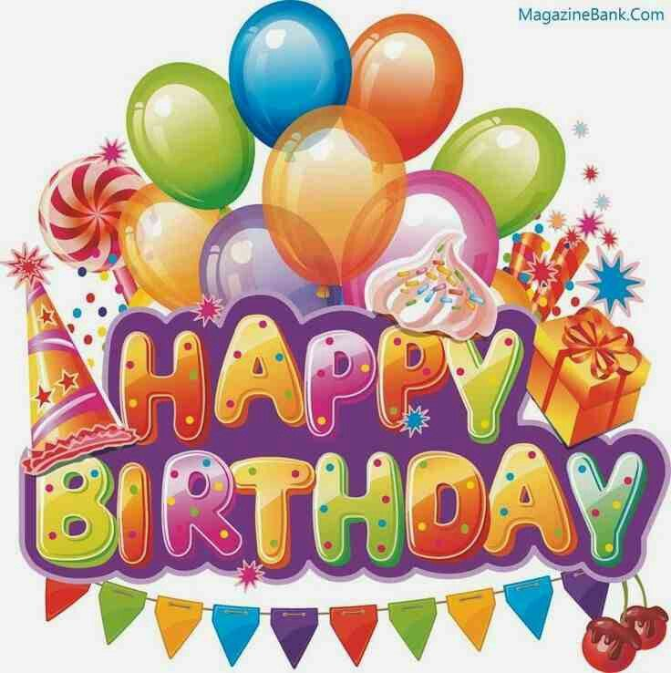 Word clipart birthday party Best images birthday clipart Pin