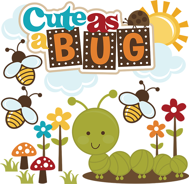 Word clipart bug SVG SVG Cute Bug files