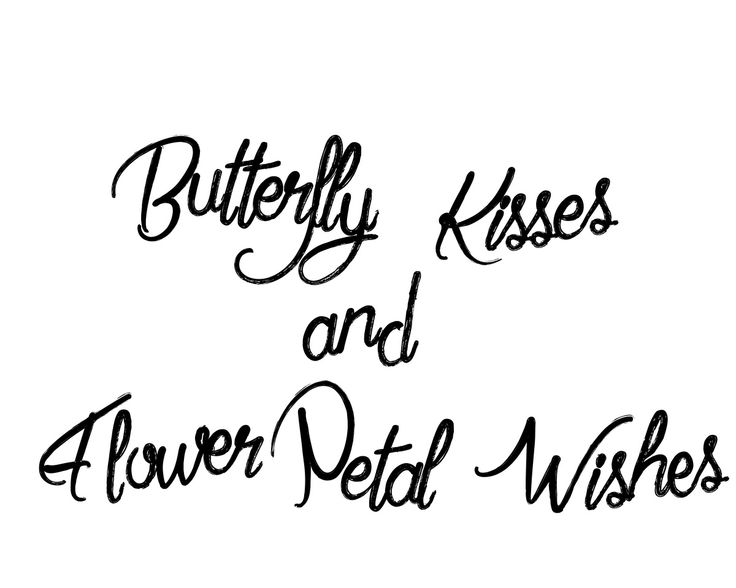 Kisses clipart the word Clipart clipart Butterfly kisses Butterfly