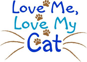 Word clipart cat Art: Love Art Sign Word