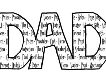 Word clipart dad Clipart Art on word Free