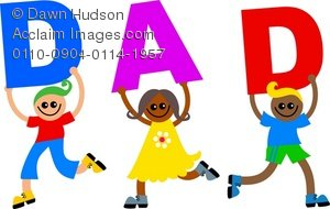 Word clipart dad Holding Clipart the Children of