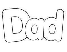 Word clipart dad Alt=Father Clip word Dad Word