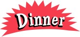 Word clipart dinner Clip Menu Course Word and