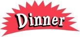 Word clipart dinner Found Dinner Menu Word 37