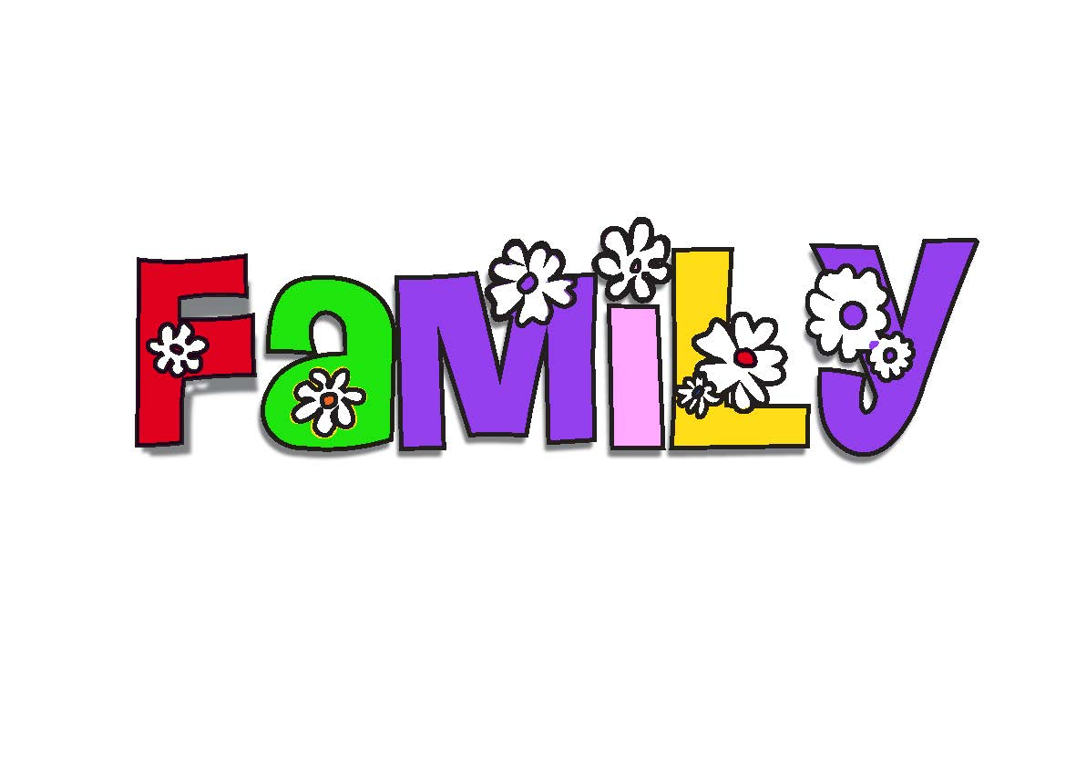 Word clipart family reunion Families Clip clipart Family ClipartAndScrap