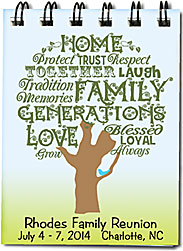 Word clipart family reunion Reunion art sized notebooks word