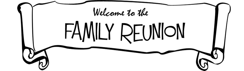 Word clipart family reunion Family Art Clipart clip Reunion