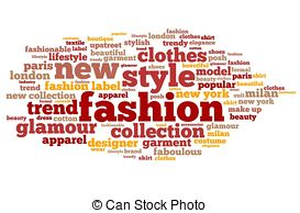 Word clipart fashion Words Word Stock 210 Fashion