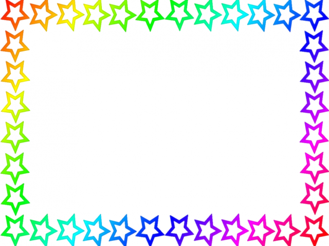 Word clipart flower Clipart Birthday For Cliparts Border