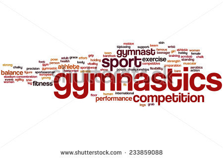 Word clipart gymnastics Cloud word Gymnastics (21+) Word