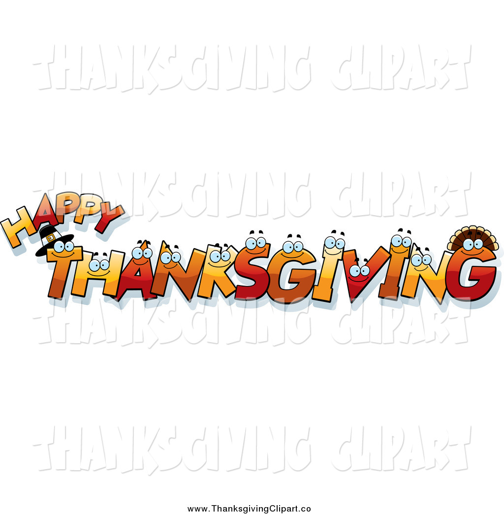 Word clipart happy thanksgiving Happy – clip Clipart images