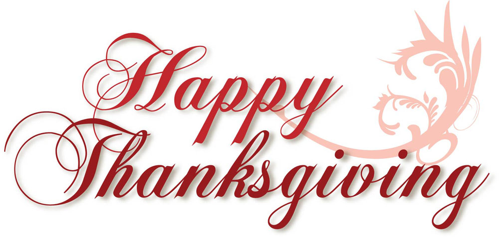 Word clipart happy thanksgiving Thanksgiving art free and 6